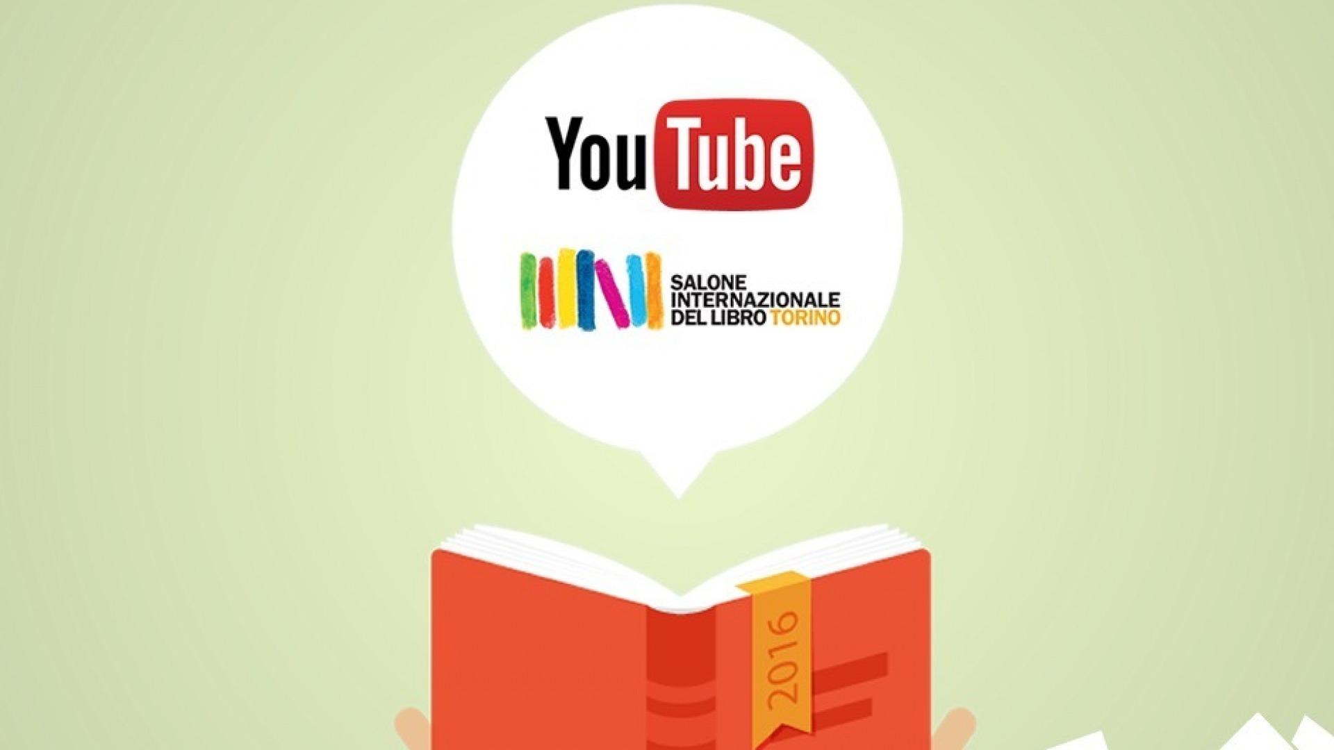 immagine blog Youtuber famosi al Salone del Libro di Torino