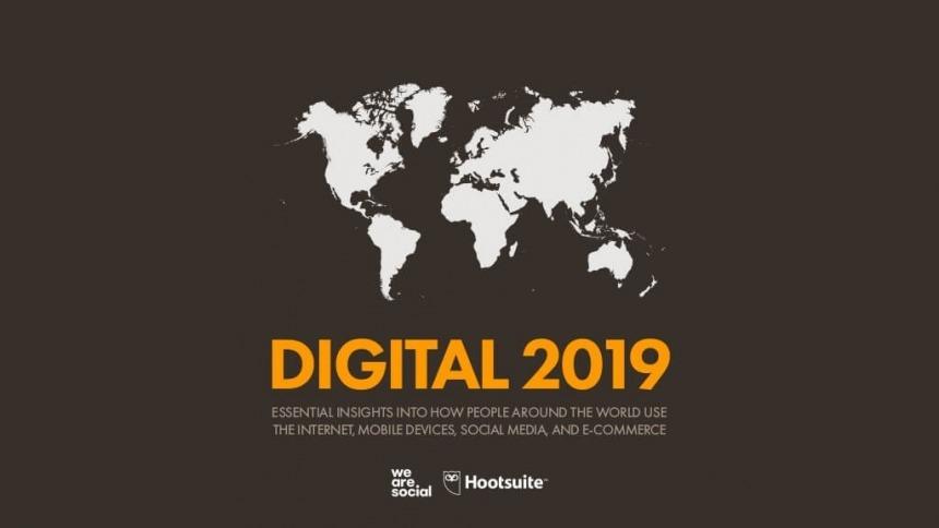 Digital 2019, le statistiche su cui riflettere