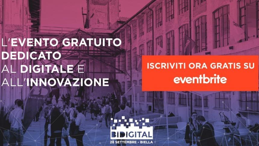 Michele Tolu partecipa a BiDigital il 28 settembre a Biella