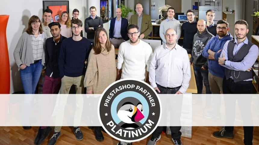 OrangePix è diventata agenzia Platinum di PrestaShop