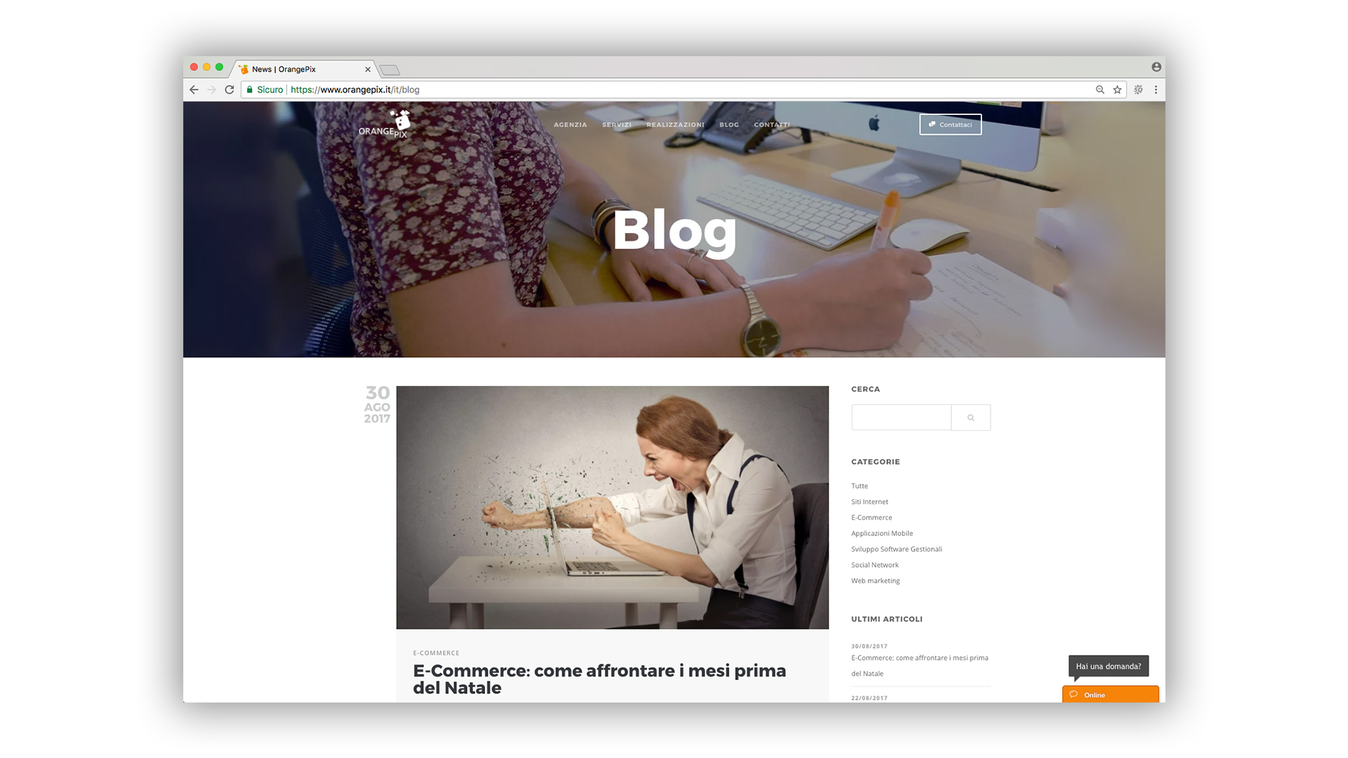 blog di Orangepix