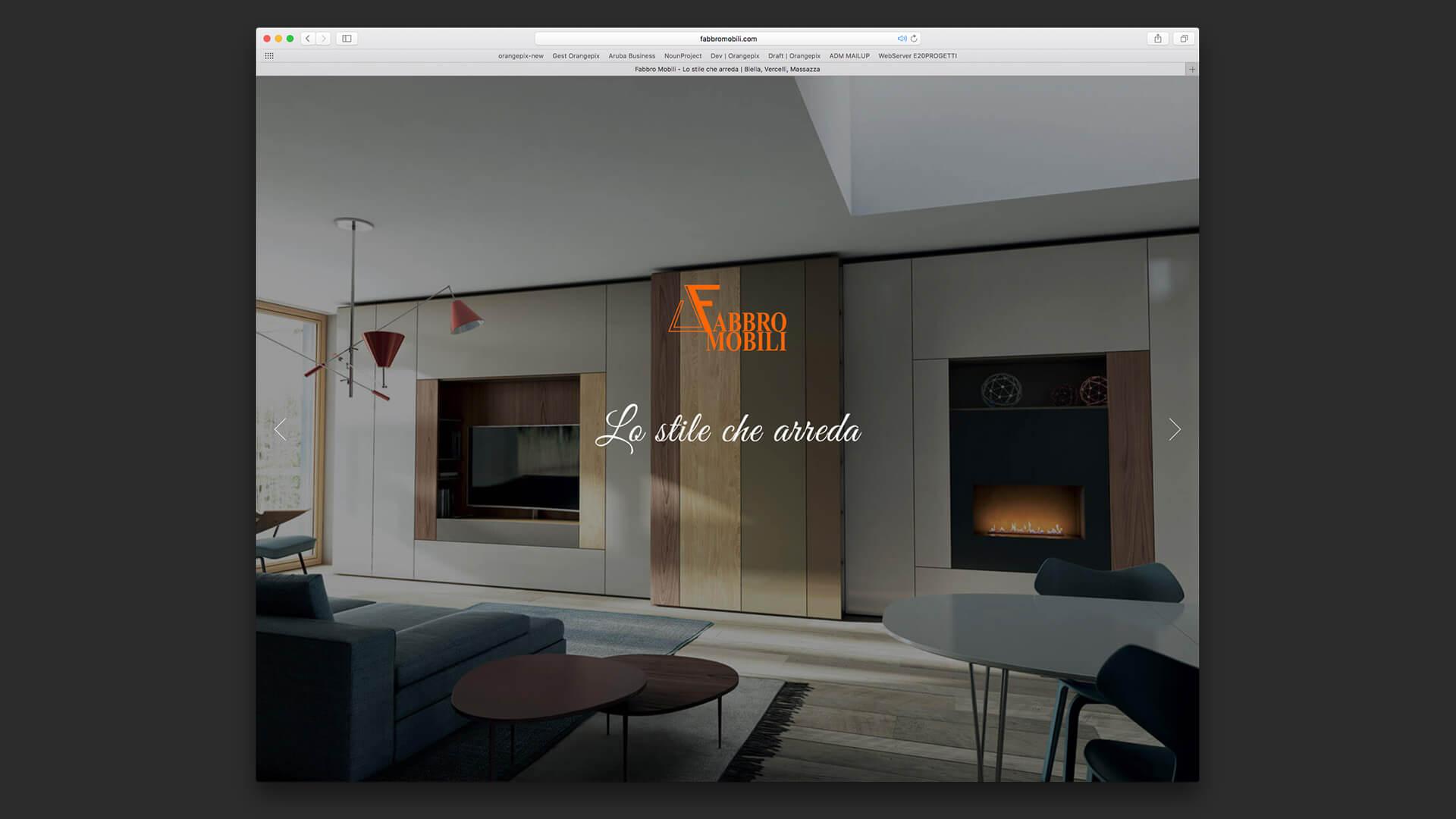 Orangepix portfolio biella fabbro mobili for Sito mobili