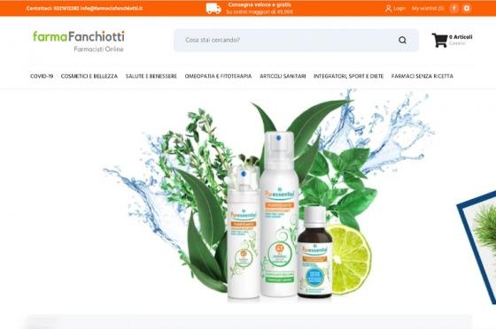 Realizzazione e-commerce Farmacia Fanchiotti OrangePix