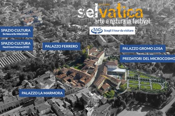 Realizzazione siti-web Tour 360° Selvatica OrangePix
