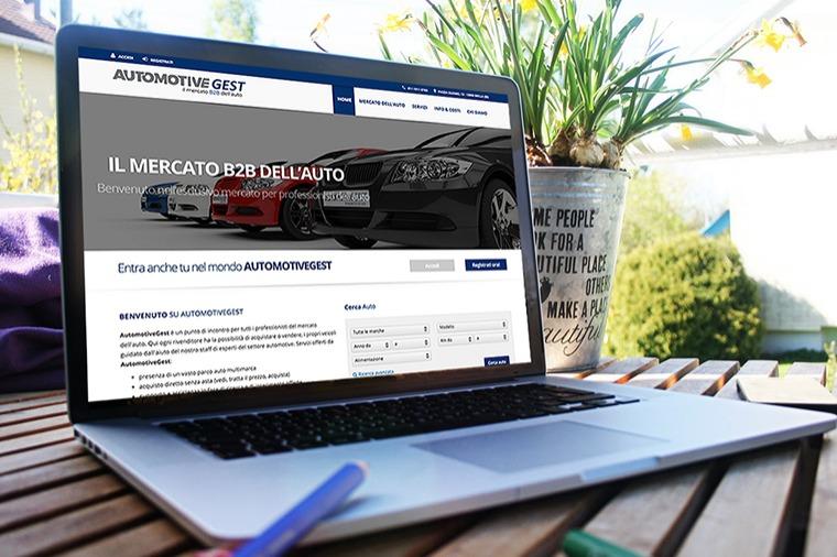 Realizzazione siti-web AutomotiveGest OrangePix