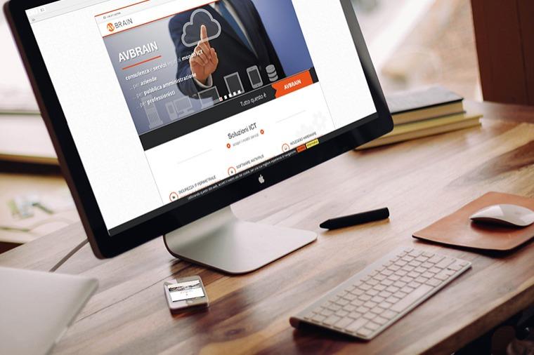 Realizzazione siti-web AVBRAIN OrangePix