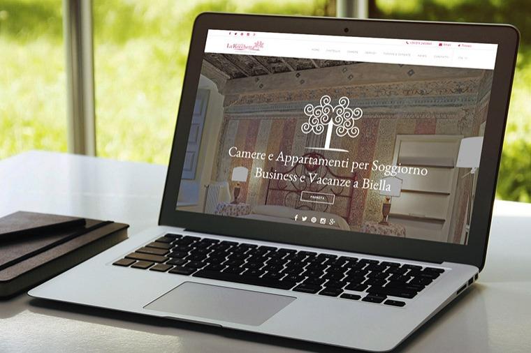 Realizzazione siti-web Castello La Rocchetta OrangePix