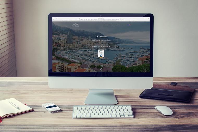 Realizzazione siti-web C.C. Watches OrangePix