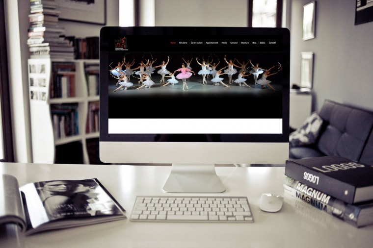 Realizzazione siti-web Studio Danza Insieme OrangePix