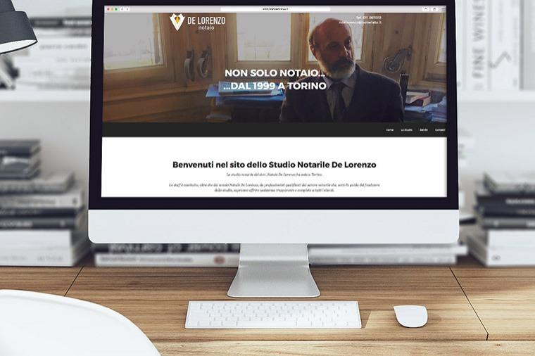 Anteprima sito Notaio De Lorenzo