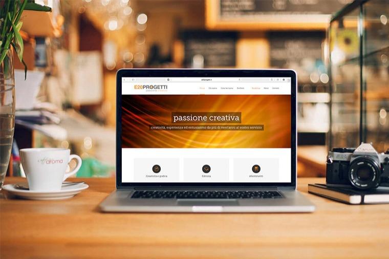 Realizzazione siti-web E20progetti OrangePix