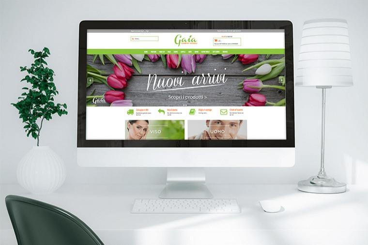 Anteprima sito Gaia Cosmetici