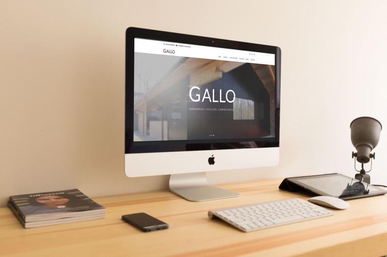 Realizzazione siti-web Gallo Serramenti OrangePix