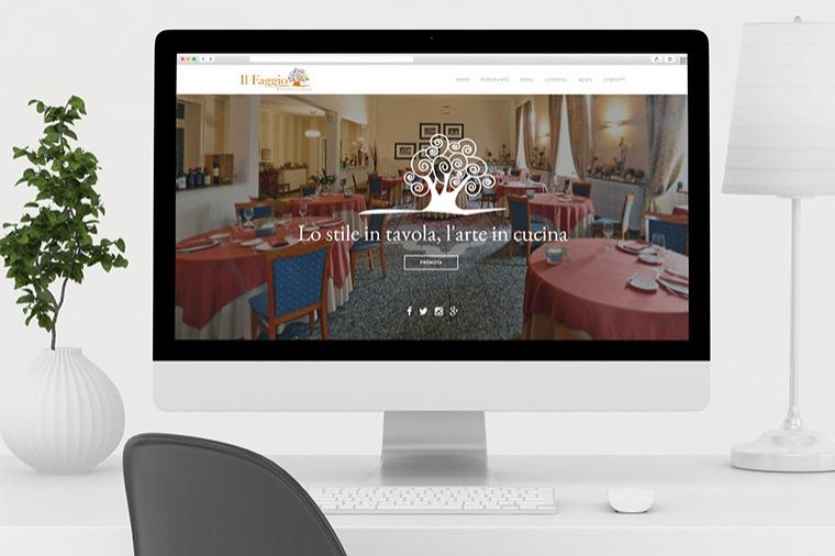 Realizzazione siti-web Ristorante il Faggio OrangePix