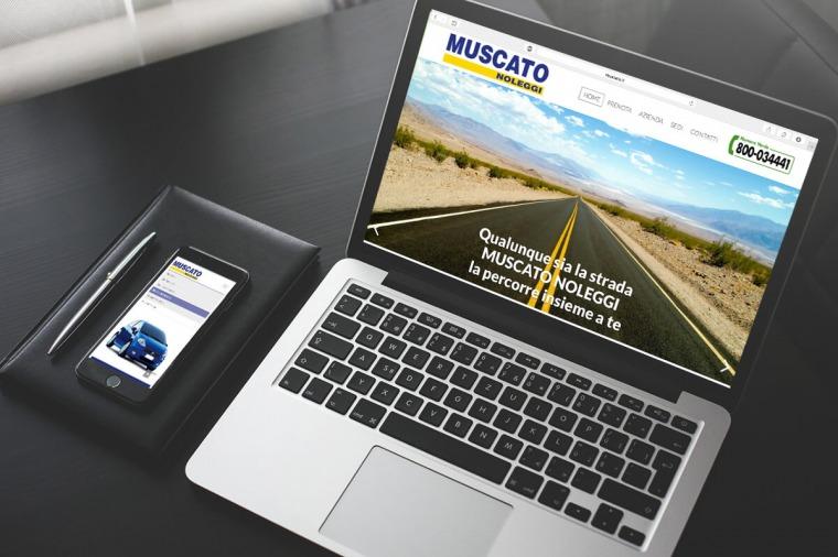 Realizzazione siti-web Muscato Noleggi OrangePix