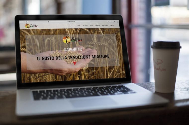 Realizzazione siti-web Panificio Pavan OrangePix