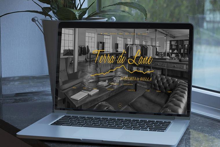 Realizzazione siti-web Terra di Lane OrangePix