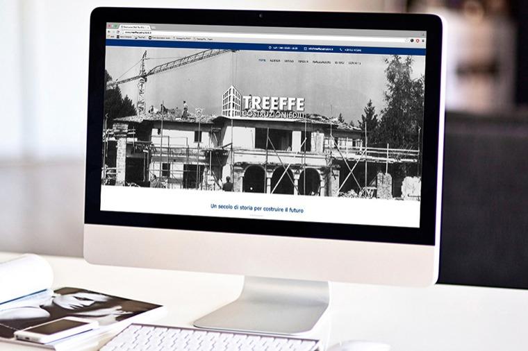 Anteprima sito Tre Effe Costruzioni