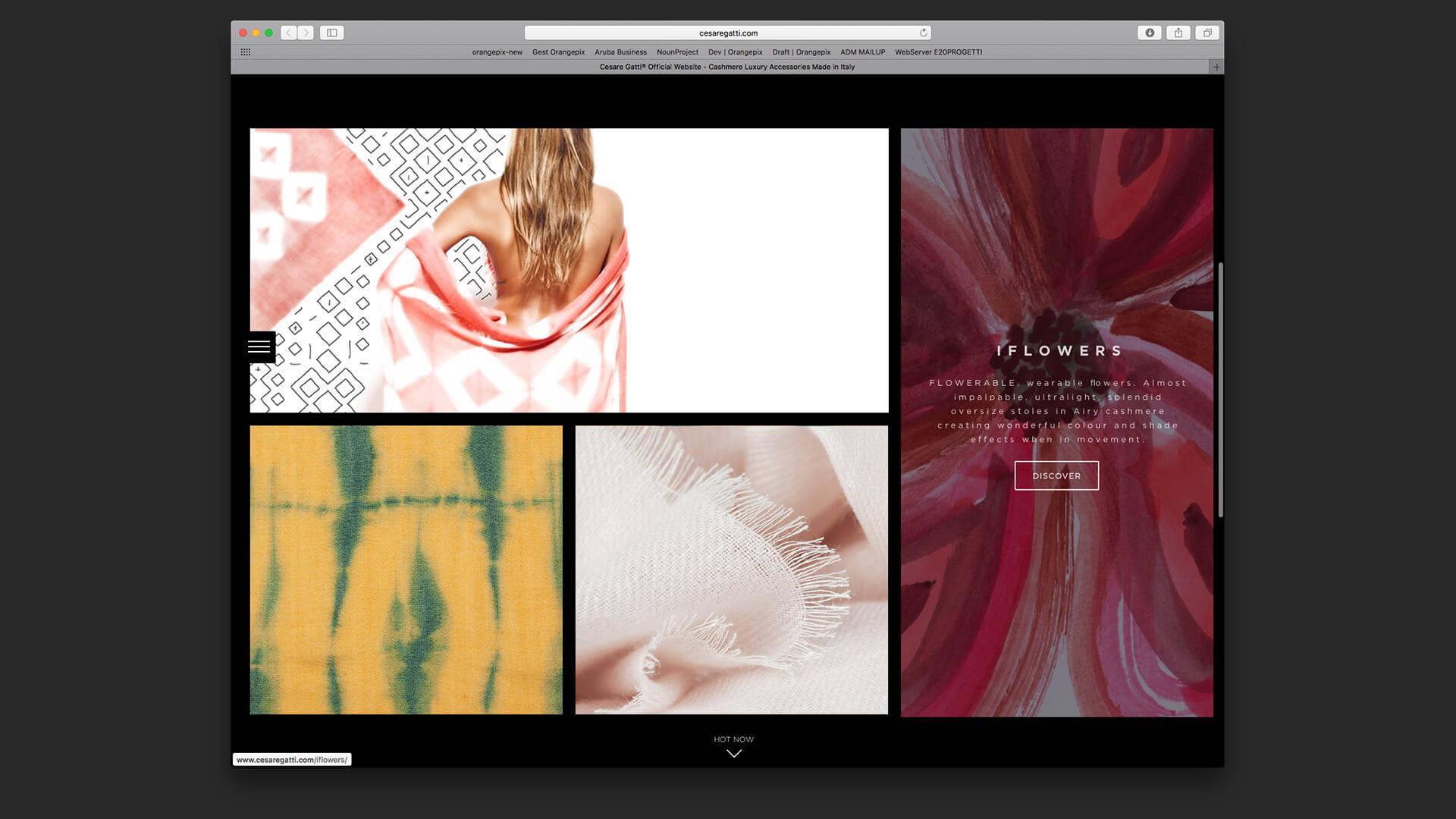 Immagini responsive del sito
