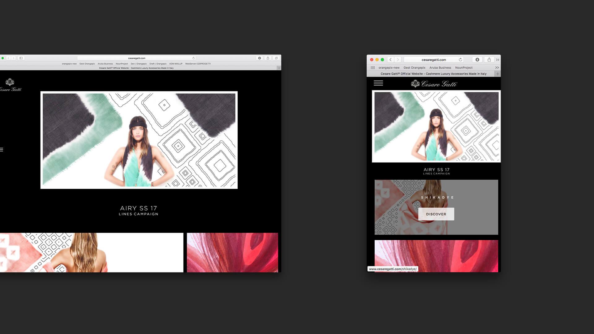Presentazione responsive delle pagine
